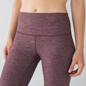 High Times Pant in Heathered Bordeaux Drama - 6